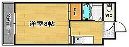 ルエメゾンロワール西公園III1号館[3階]の間取り