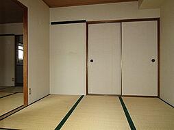 田辺ハイツの和室4.5帖