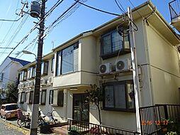 東京都品川区大井7丁目の賃貸アパートの外観