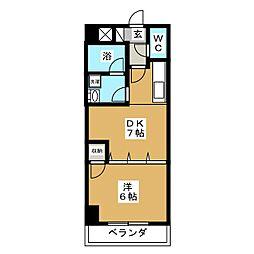 KATOビル[1階]の間取り