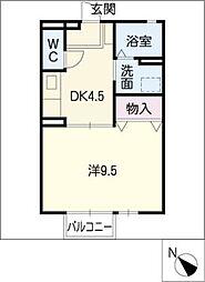 ダイワロイヤルタウンA[1階]の間取り