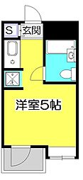 パークアベニュー国分寺[3階]の間取り