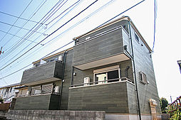 千葉県柏市東逆井1丁目の賃貸アパートの外観