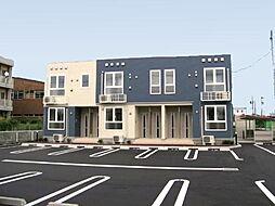 新潟県新潟市東区津島屋6丁目の賃貸アパートの外観