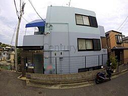 兵庫県川西市花屋敷1丁目の賃貸マンションの外観