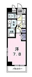 シャトルIII[2階]の間取り