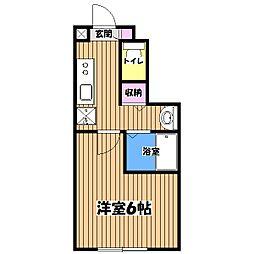 ミハス吉祥寺本町[1階]の間取り