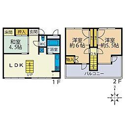 本厚木エグゼクティブマンション[2階]の間取り