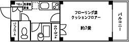 東京都江東区福住2丁目の賃貸マンションの間取り