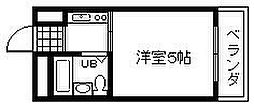 泉州昭和ビル[206号室]の間取り