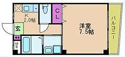 ノーブルコート[3階]の間取り