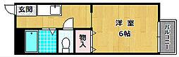 ハイツH&M[2階]の間取り