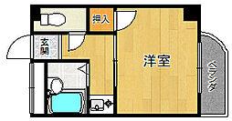 メイプル武庫之荘西[202号室]の間取り