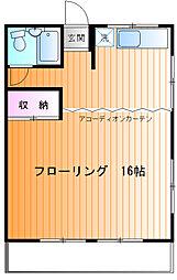 相沢ビル[305号室]の間取り