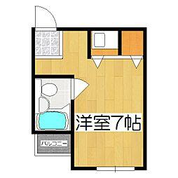 マンションチトセ[307号室]の間取り
