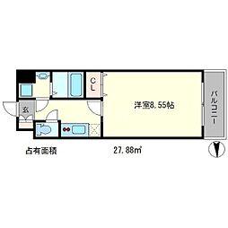 PINE館III[3階]の間取り