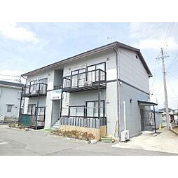 長野県千曲市大字上徳間の賃貸アパートの外観