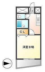 マンション ヒエロ[3階]の間取り
