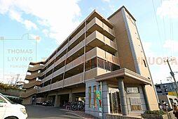 福岡県春日市若葉台西7丁目の賃貸マンションの外観