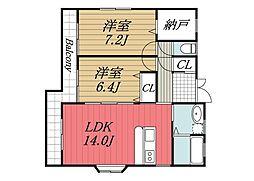 [一戸建] 千葉県千葉市中央区港町 の賃貸【/】の間取り