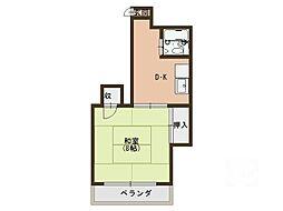 舟田マンション[2階]の間取り