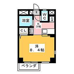 TWIN BUILD[8階]の間取り