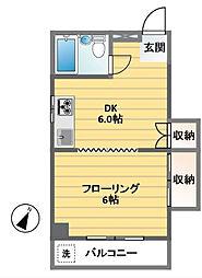 メゾン桜井[305号室]の間取り
