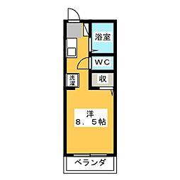 ガーデニア21S棟[2階]の間取り