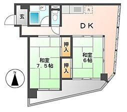 いそのビル[5階]の間取り