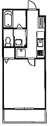 コンフォート植村[1階]の間取り