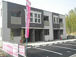 袖ケ浦市奈良輪2621番地新築アパート[201号室]の外観