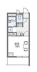 シマサン17[1階]の間取り
