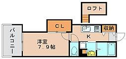 アクタス博多Vタワー[14階]の間取り