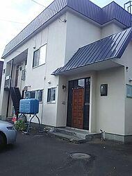 北海道札幌市南区石山二条6丁目の賃貸アパートの外観