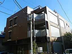 東京都目黒区下目黒4丁目の賃貸マンションの外観