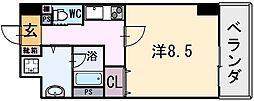 PRECIO小阪[5階]の間取り