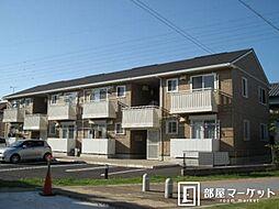 愛知県岡崎市西大友町字杭穴の賃貸アパートの外観
