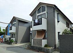 兵庫県西宮市老松町の賃貸アパートの外観