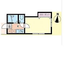 オネスティ松戸[1階]の間取り
