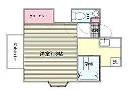 ポピーハウス[2階]の間取り