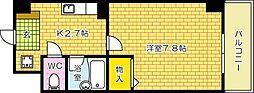 JRBハイツ横川[204号室]の間取り