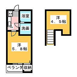 シェモア千種公園[1階]の間取り