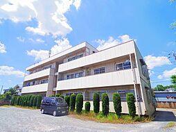 東京都東久留米市南沢4丁目の賃貸マンションの外観