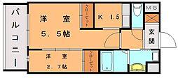 ロイヤルシティ自由ヶ丘[7階]の間取り