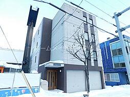 北海道札幌市白石区本通7丁目北の賃貸アパートの外観