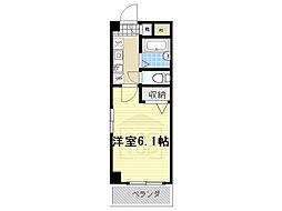 コスモコート[2階]の間取り