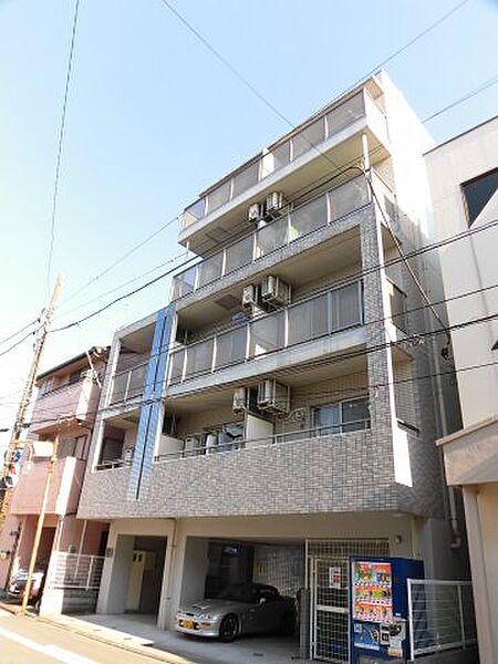 アイルイン武蔵新城[4階]の外観