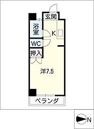 マスキャン黒野[2階]の間取り