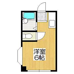 プラム中書島[3階]の間取り