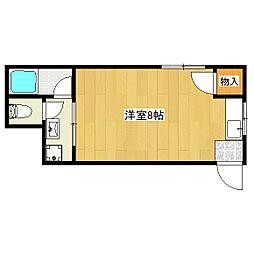 コーポ徳田[2階]の間取り